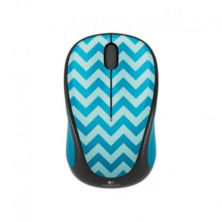 Logitech Wireless mouse M238 Play Collection - Teal Chevron