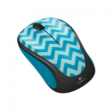 Logitech Wireless mouse M238 Play Collection - Teal Chevron - 2