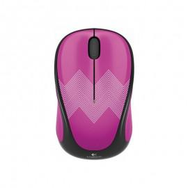Logitech Wireless mouse M238 Play Collection - Purple Zigzag