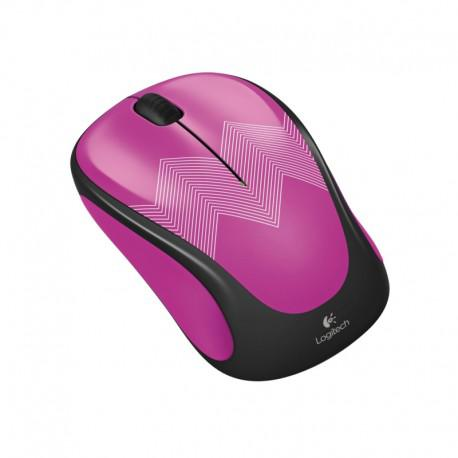 Logitech Wireless mouse M238 Play Collection - Purple Zigzag - 2