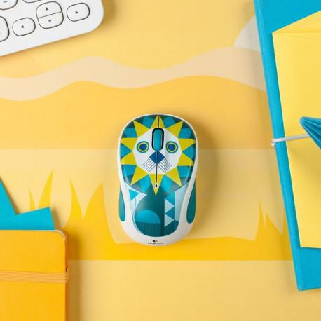 Logitech Wireless mouse M238 Play Collection - Lion - 3