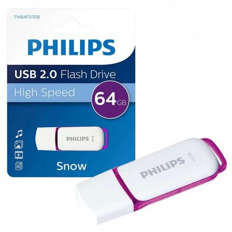 Philips 64GB Snow Edition USB 2.0 - 3