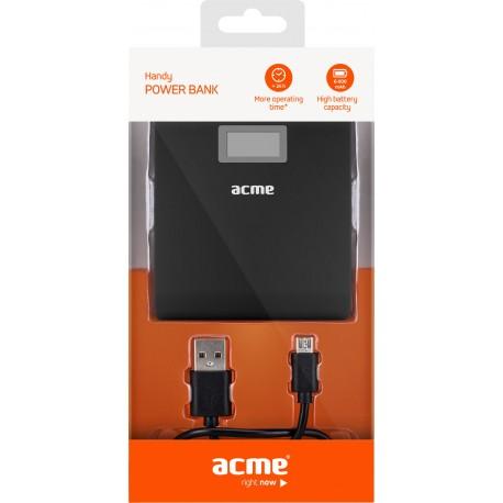 Acumulator extern ACME PB06, 6000mAh, 2x USB - 4
