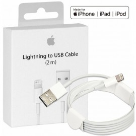 Cablu Apple original, Lightning, USB, 2.0m, White
