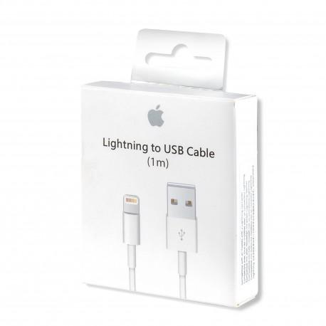 Cablu Apple original (MD818ZM/A), Lightning, USB, 1.0m, White