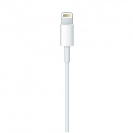 Cablu Apple original (MD818ZM/A), Lightning, USB, 1.0m, White - 2